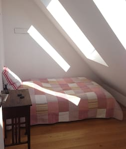 Bright room in rooftop apartment - Vienna - Departamento