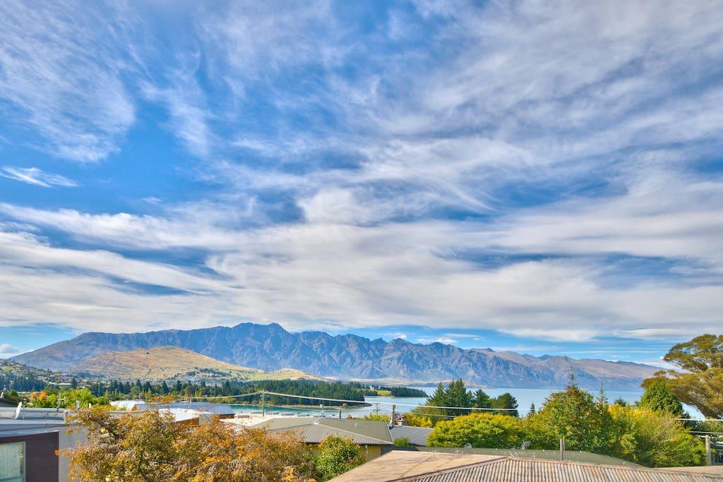 Spectacular views of the Remarkables