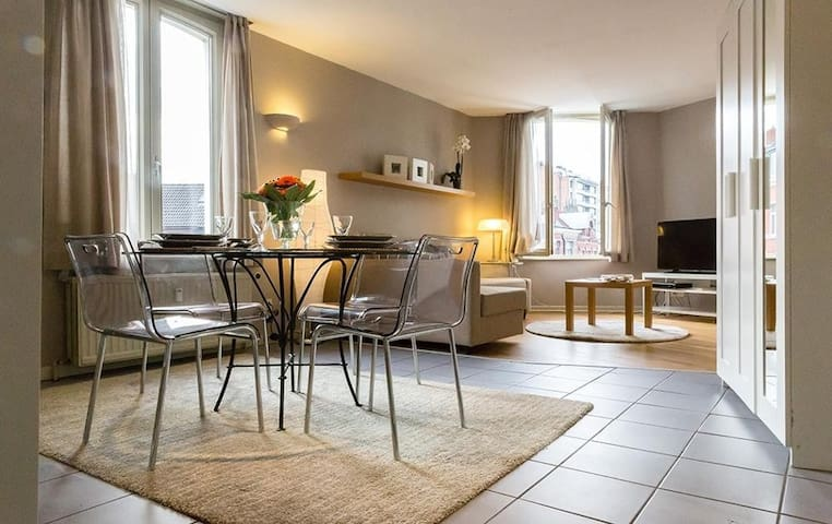 Ideal one bed apartment in heart of Brussels!