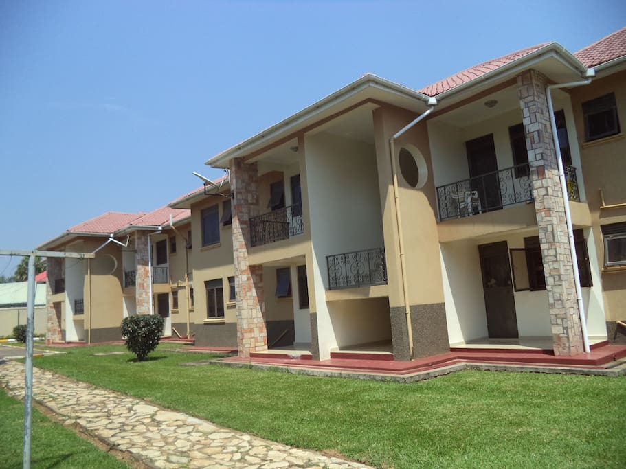 Partially furnished residential apartments in secured and quite environment monthly and yearly arrangements in entebbe.