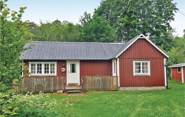 Holiday cottage with 1 bedroom on 45 m² in Knäred