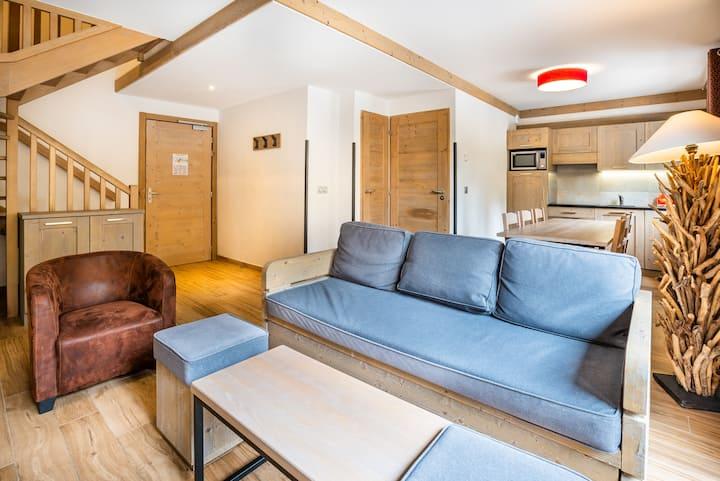 Appartement duplex 4/6p n°407 ski au pied