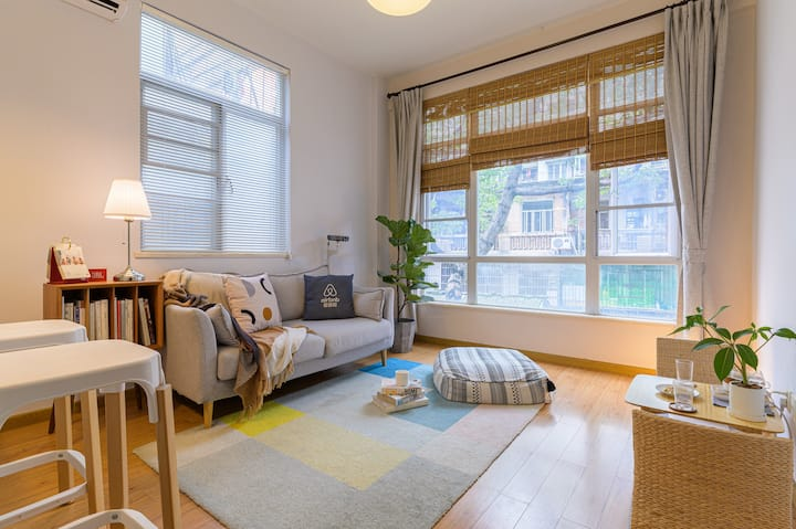 【HOWIE'S HOUSE】市区老城里的小别墅 独享一室一厅舒适空间 近地铁二号线江南西/市二宫站