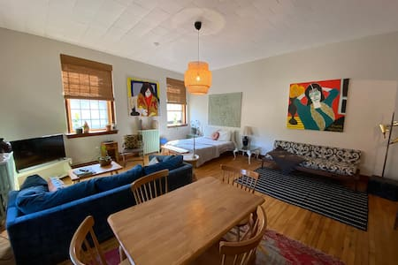 Stunning Studio in historic Downtown Bellows Falls