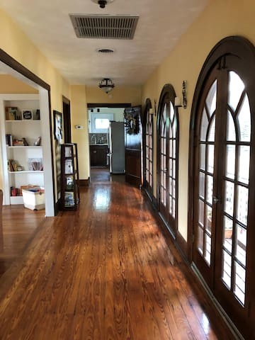 Entry way into your space -