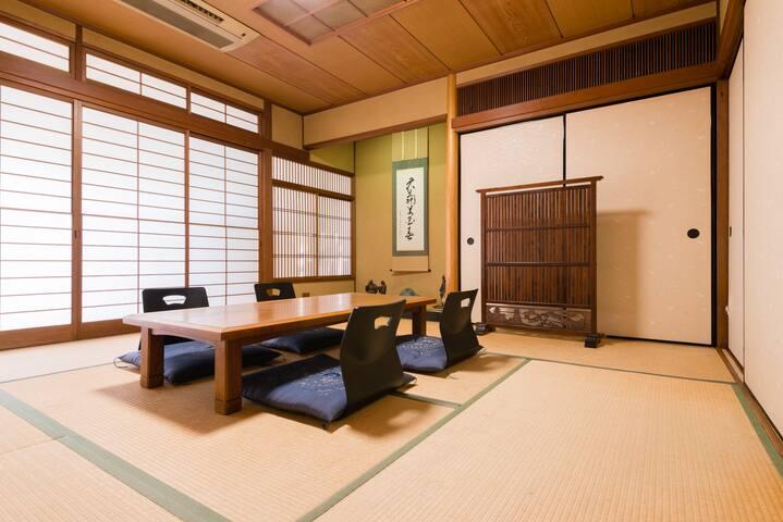 3分钟锦市场,第6分钟,河原町有4分钟所有鸭川步行距离之内,京都中心乌丸御池