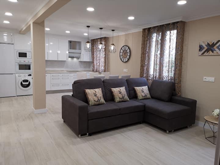 Precioso piso recién renovado