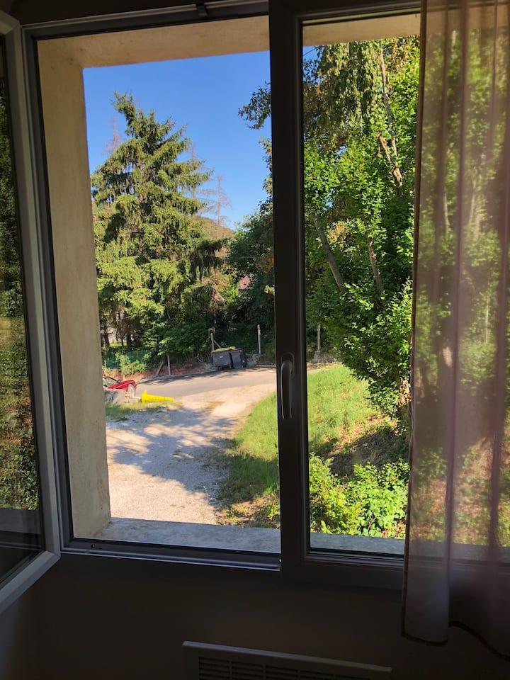 Studio- vue jardin-orsay-plateau de saclay