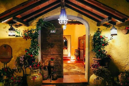 Cozy room  located between Florence and Siena - Gaville - Villa