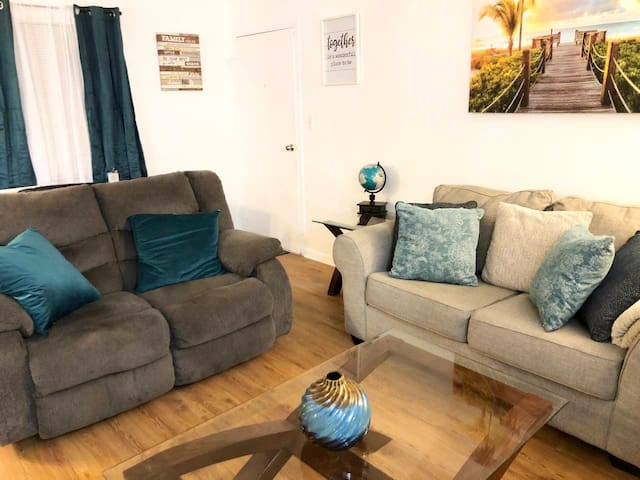Welcome to our cozy and spacious Virginia Beach apartment home, stocked with everything you will need for your stay! Within walking distance of the Convention Center!