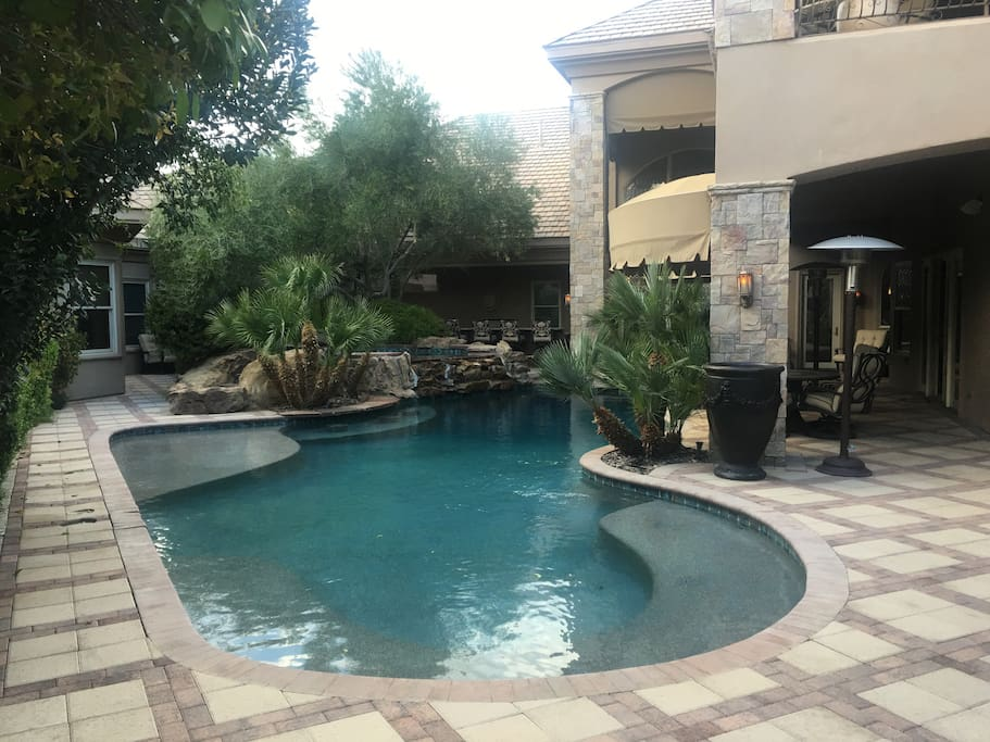 Deepwater Pool with Jacuzzi