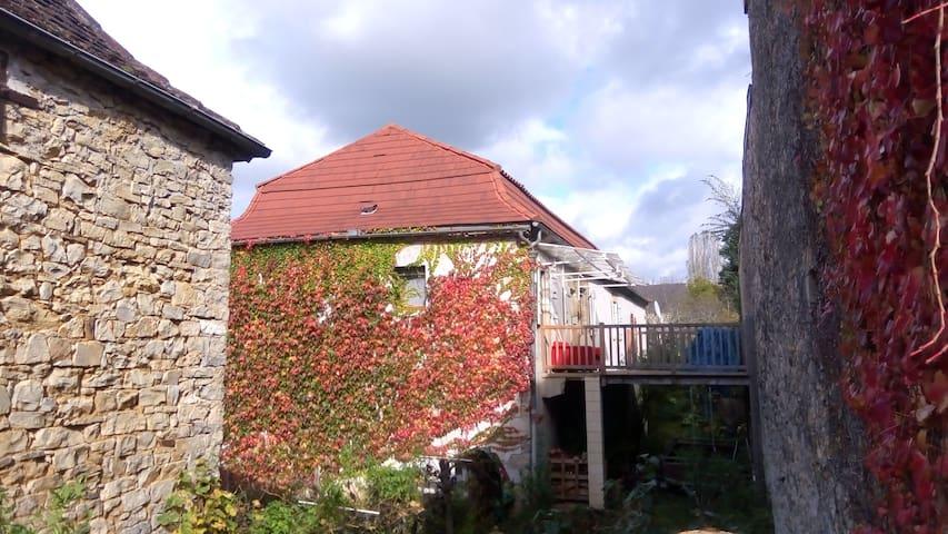 Maison Quercynoise - vallée de la Dordogne