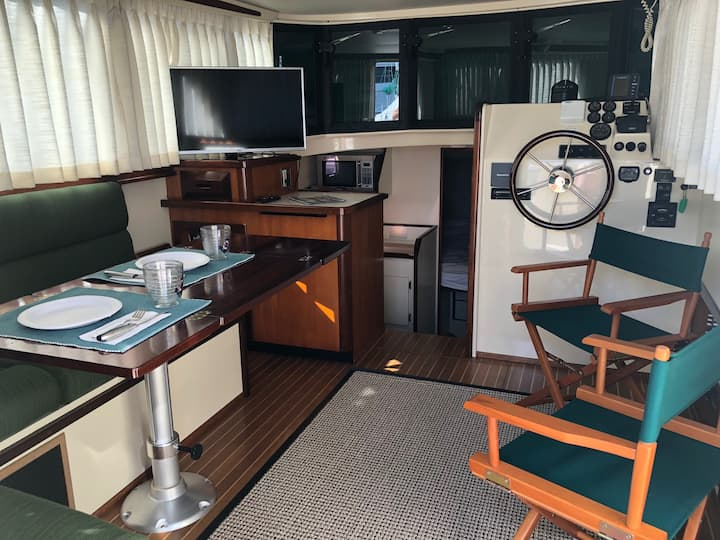 Stay Aboard The Roost For Your Saugatuck Vacation!