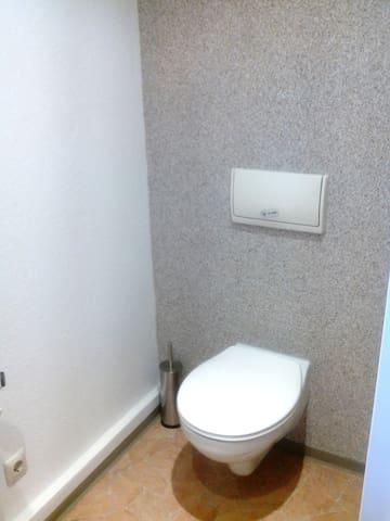 3room app., wifi, partial furniture - Zella-Mehlis - Apartemen