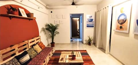 Cozy comfortable homestay l 1 bhk apartment