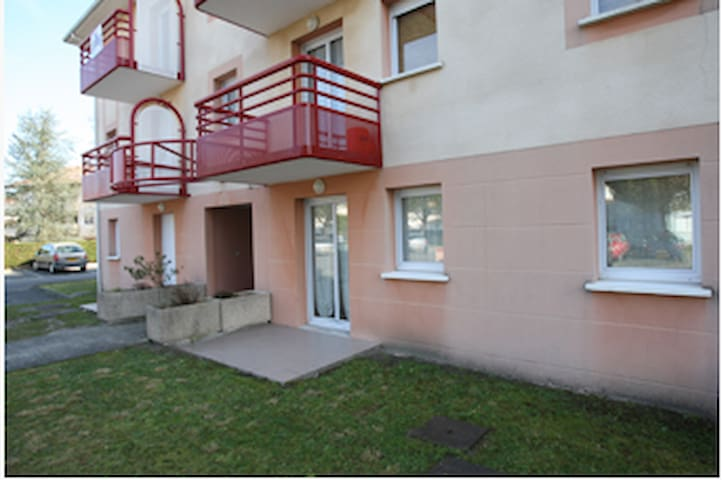 Appartement meublé et équipé avec balcon - Dax - Departamento
