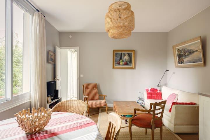 Au Vésinet, maison au calme si près de Paris
