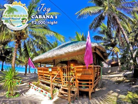Pahowaiian Beach Resort - Cabana 1: Joy