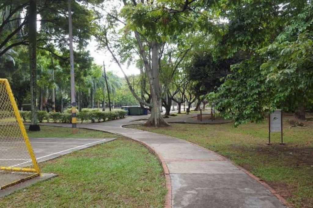 Zonas verdes para recreacion