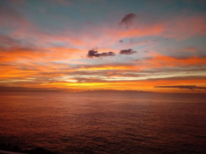 Paraíso único encima del mar