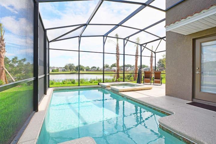 Private Pool with heat (addicional cost)