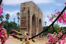 Monumento do Expedicionário no Parque da Redenção.