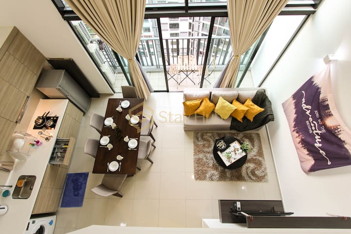 Highest4_ I City  Big Loft_Fantastic Balcony View