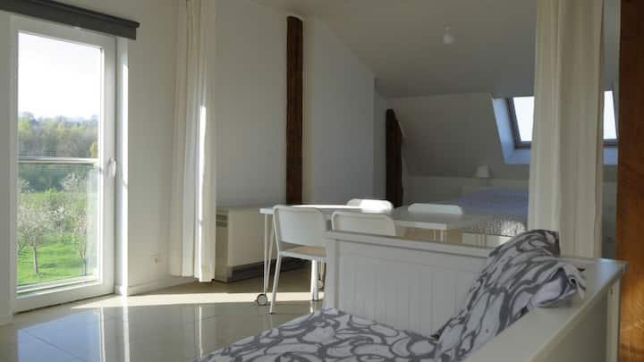 Bright 50 Sqm apartment PROMO 880€*/month +3 month