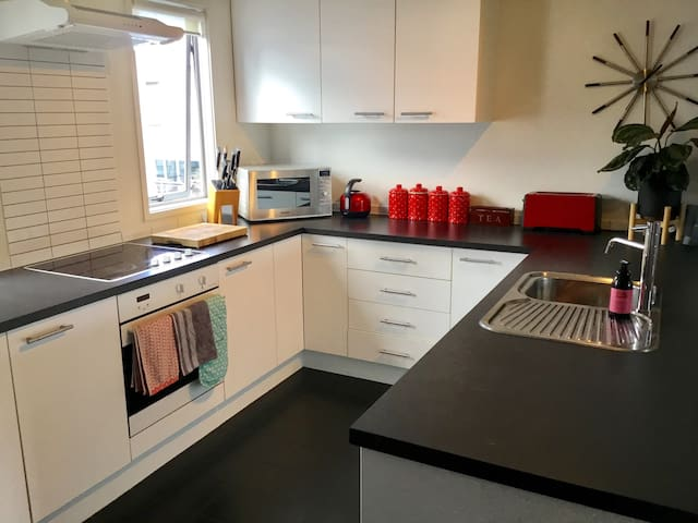 Garden Apartment close to City and Airport