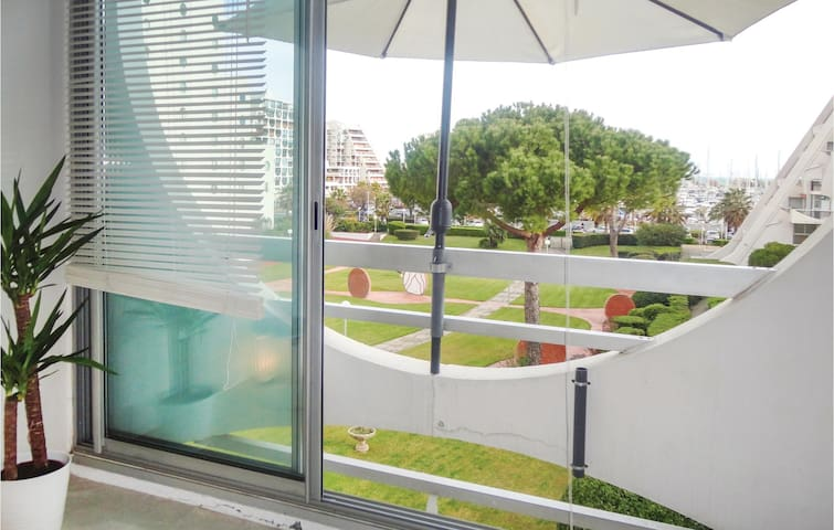 Holiday apartment with 1 room on 32m² in La Grande Motte