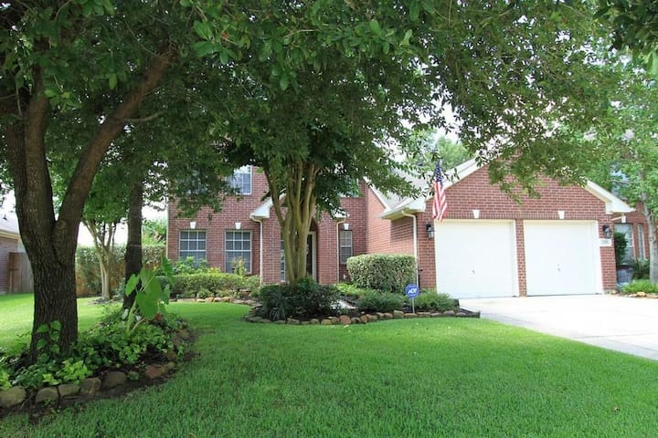 Beautiful & Quiet Home near Bush IAH Airport - Humble - Casa
