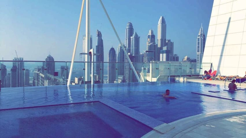 Double Room with Lake views, JLT, Dubai