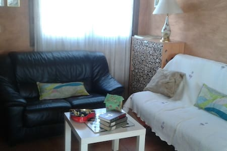 House with fireplace,large garden and little house - Venta de Baños