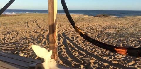 Lo de Charito, en el mar.