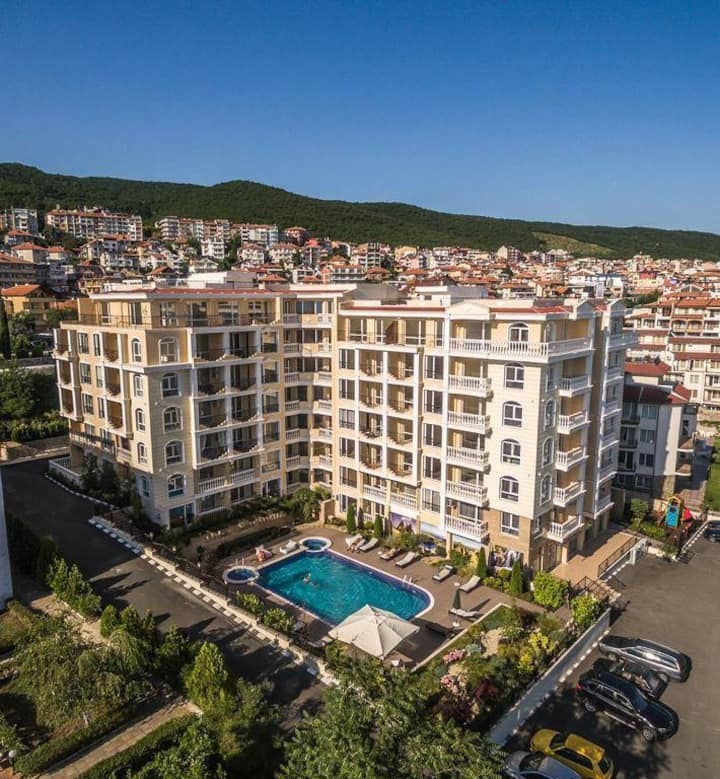 luxury appartment saint vlas  jassen5vila sardinia