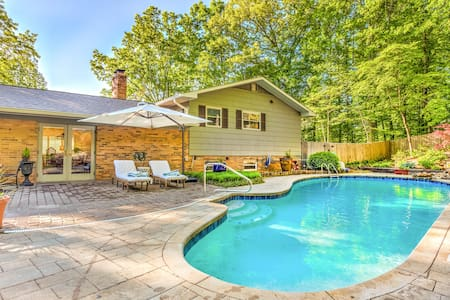 Oak Ridge Hidden Retreat with private pool