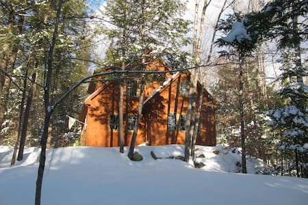 Cozy chalet getaway - Knotty Knoll - Huis