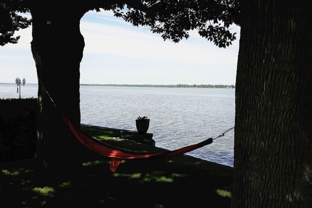 Vue Lac Champlain