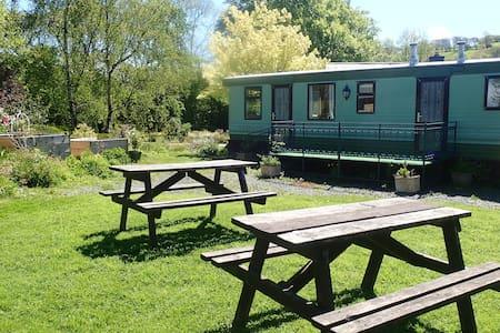 The Millpond Caravan, Penegoes, Machynlleth