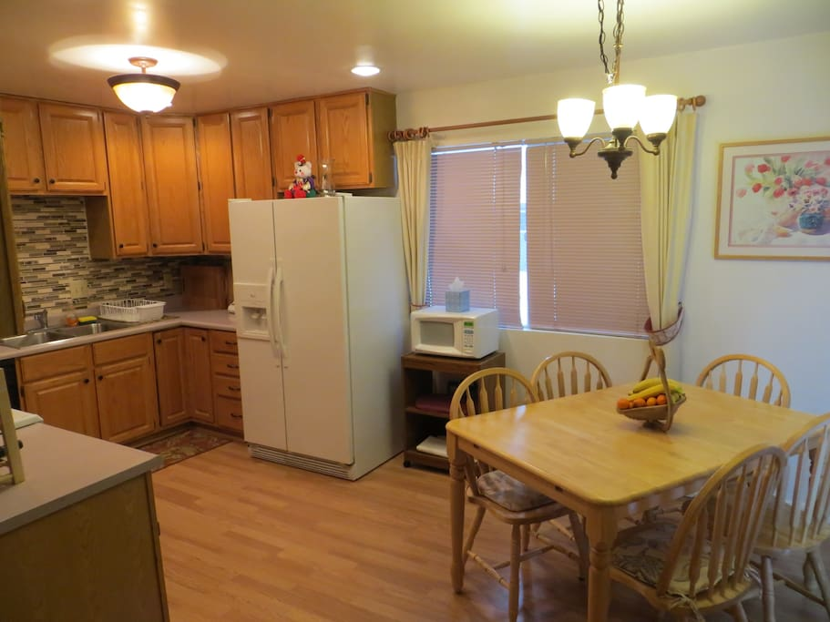 Kitchen/dining space