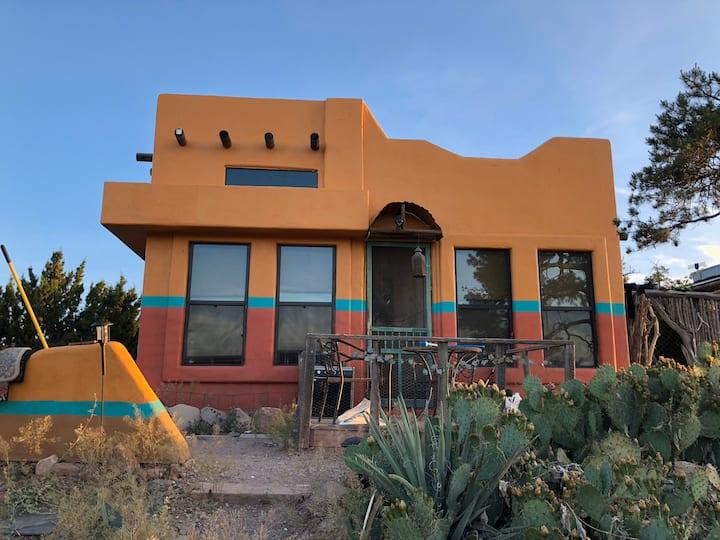 MountainTOP adobe style tiny home