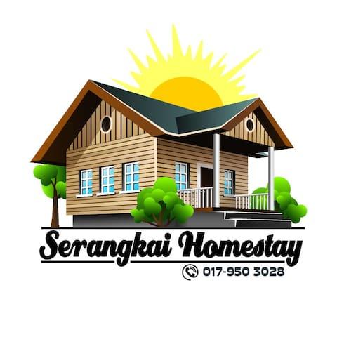 Serangkai Homestay - Pasir Gudang - House