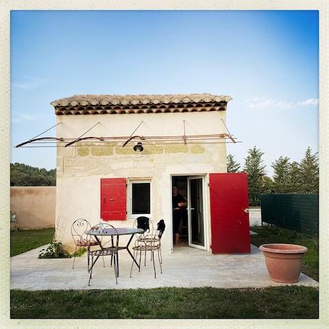 Mazet en Provence dans propriété équestre