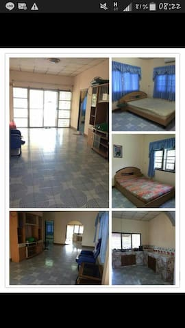 2mins from UDTown half furnishhouse - Udon Thani - House