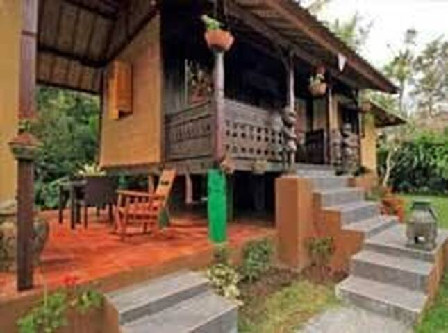 An Antique Charming Wooden House