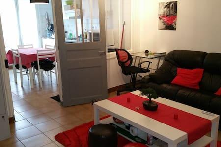 Appartement F2 45m² spacieux centre-ville - Nemours