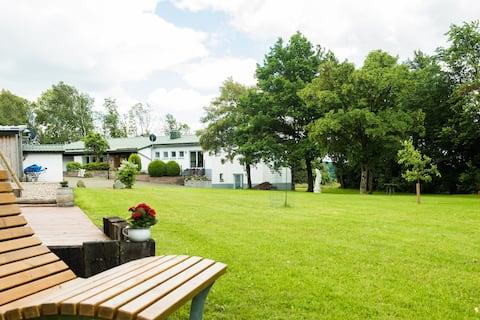 Ferienhof Weites Land - Wohnung Wald