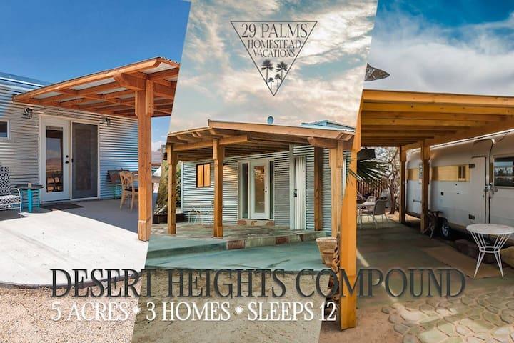 5 Acres   3 Separate Living Spaces   Getaway