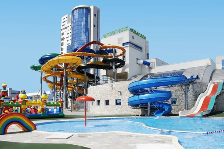 Apartment Near Aqua Park and Riviera