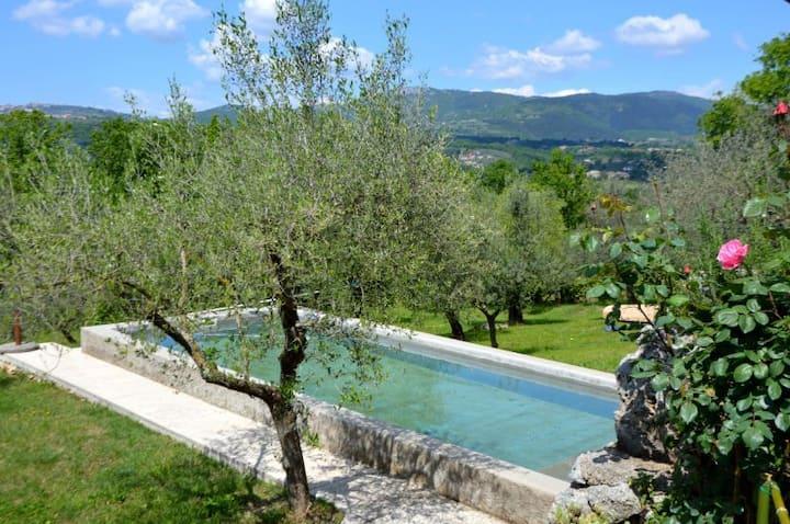 La Casetta  Aia Le Monache - garden, swimming pool